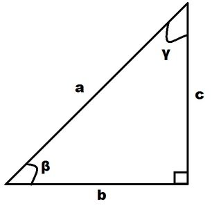 Problemi di goniometria risolti triangolo rettangolo