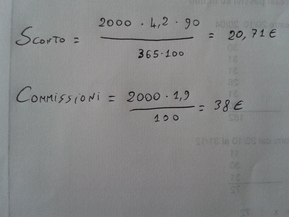 Calcoloscontopartitadoppia