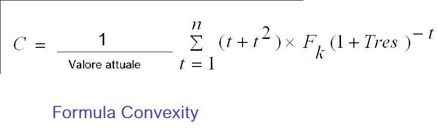 Formula convexity matematica finanziaria 1