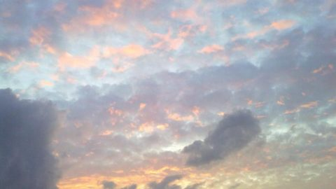 Nuvole tramonto