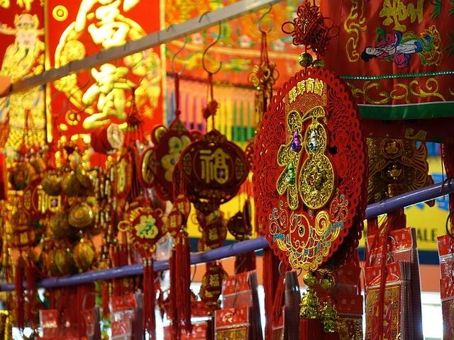 Musica tradizionale cinese e lanterne